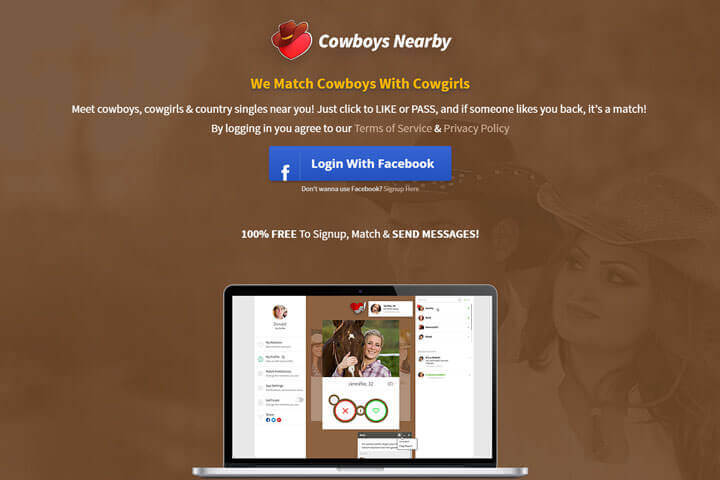 cowboy dating site for free Cowboy chat city gives city get ready to chat with real cowboys and cowgirls join for free cowboy chat city is the #3 ranked site for cowboy dating.