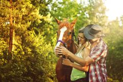 cowboy couple