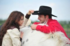 Couples and Love story in cowboy's style